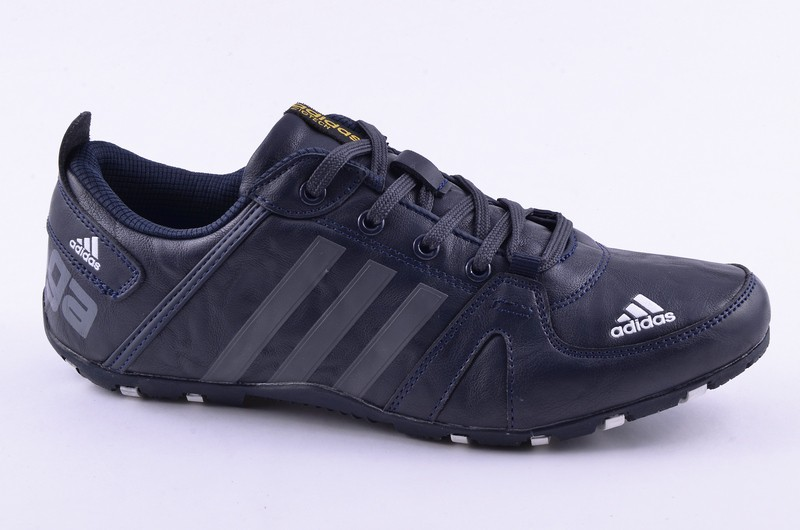 Sport + ADD D702-3 Кроссовки син-сер кожа