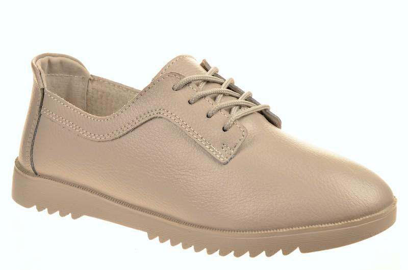 Bluetooth 361-11 Ботинки женские какао нат кожа