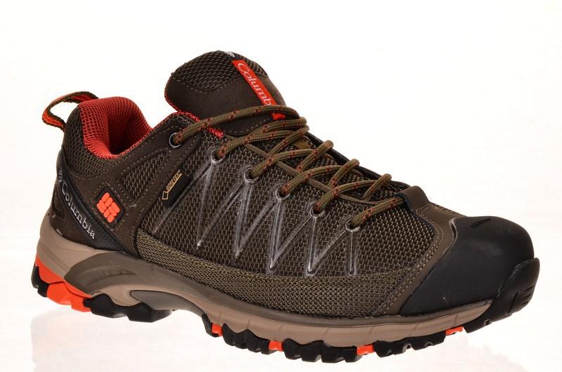 Sport + CLM SA9856-3K Кроссовки хаки текстиль+нубук, подклад термо мембрана