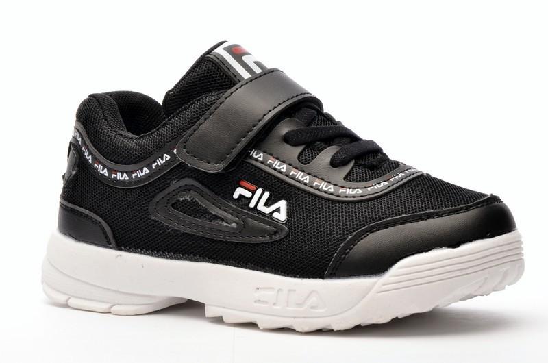 Sport + FLA DC1601-1 Кроссовки чер текстиль+иск кожа
