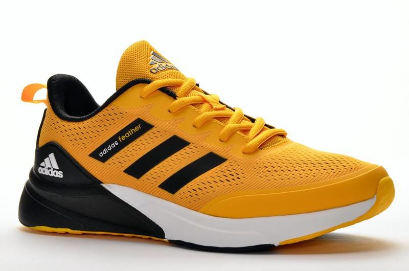 Sport + ADD DA085-17Z Кроссовки желт текстиль