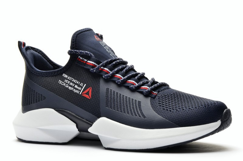 Sport + RBK DA615-3 Кроссовки син текстиль