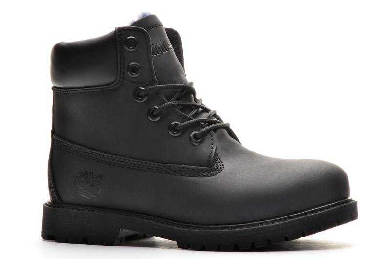 Sport + TML RB1028-1K Ботинки чер нубук, подклад комби мех (нат+иск)