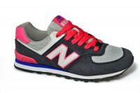 Sport + NB DB140-2 Крос сер-роз текстиль+замша - Совместные покупки